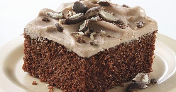 Looking for a chocolate dessert using Betty Crocker® SuperMoist® milk chocolate cake