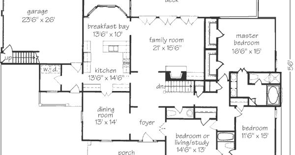 Peachtree cottage john tee architect southern living for Southern exposure house plans