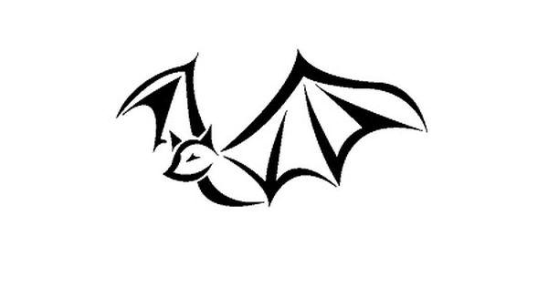 16 Cool Tribal Animal Tattoos Only Tribal Bat Tattoo Bats Tattoo Design Simple Tribal Tattoos