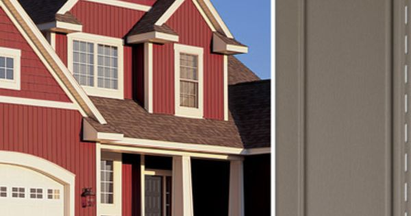 Vertical vinyl house siding board batten siding for Vertical siding options