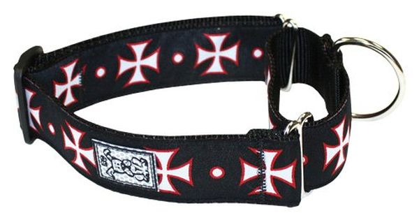 Rc Pet Products 112inch All Webbing Martingale Dog Collar Medium Maltese Cross Want Additional Info Click On Th Martingale Dog Collar Dog Collar Martingale