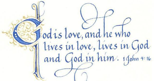 003 1 John 416 We know how much God loves us, and we have put