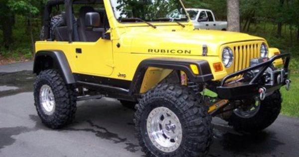 Willys And Beyond The Iconic Jeep Wrangler Jeep Wrangler Wrangler Rubicon Yellow Jeep Wrangler