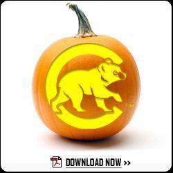 Cubs Pumpkin Carving Templates Cubs Com Fan Forum Pumpkin