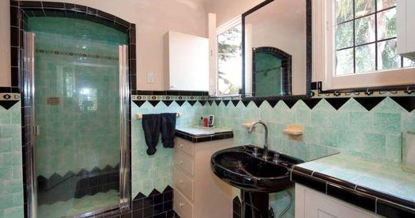 art deco bathrooms 1930s gorgeous bathroom art deco recipes to cook pinterest art deco. Black Bedroom Furniture Sets. Home Design Ideas