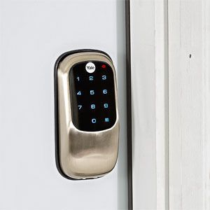 Ditch The Keys It S Time To Get A Smart Lock Smart Lock Security Gadgets Keyless Door Lock