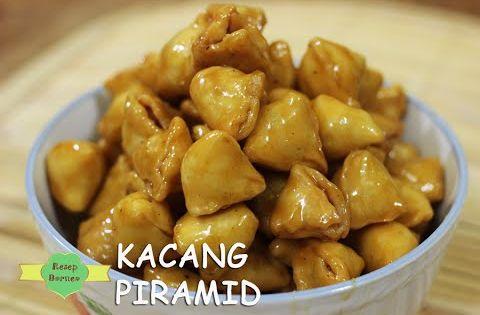 Makanan Ringan Enak Kacang Piramid Cemilan Youtube Cemilan Resep Masakan Makanan