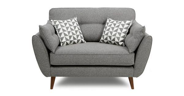 Zinc cuddler chair zinc dfs living decorating for Chaise longue dfs