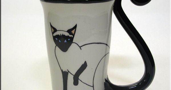 Cat Coffee Mugs At Cat Fancy Gifts Decor Siamese Cat