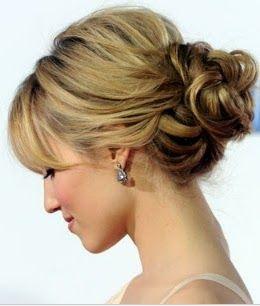 Sencillo 260 306 Peinado De Fiesta Cabello Corto Peinado De Novia Recogidos Peinados