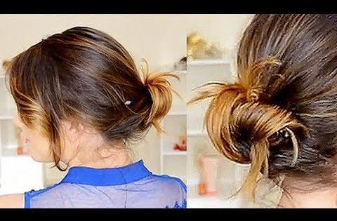 hair styles for proms an easy updo for when you only a pencil braids 9223