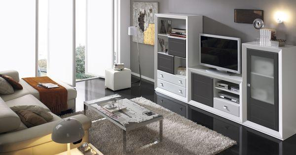 Mueble de salon hermes19 925 mueblesalon muebles for Precio muebles salon