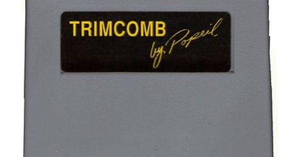 Ronco Trim Comb Olden Days Pinterest