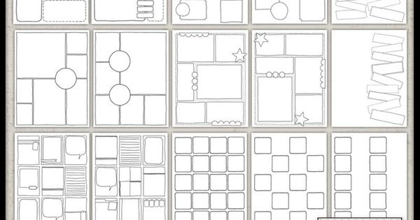 Allison Kimball - Sketchnote Journal blank template page ...