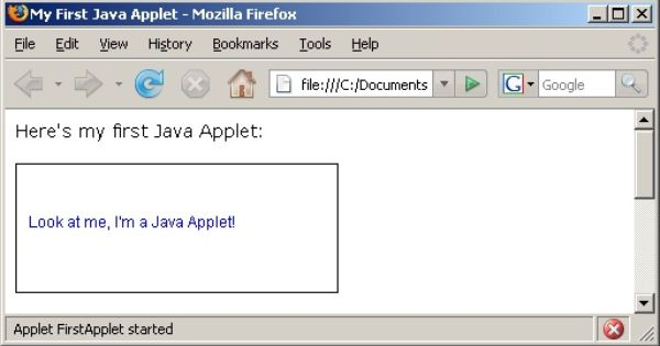 c2a6bf07aeef04af36cae81220204815 - Application Of Applet In Java