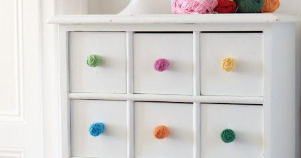 Tiradores infantiles 7 ideas para renovar los muebles for Borlas para muebles