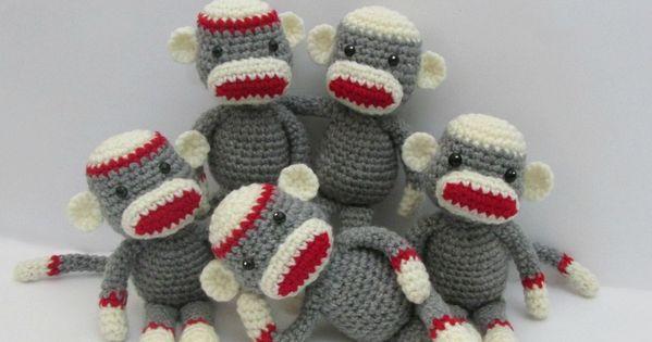 Amigurumi Freely To Go : Crochet Along Amigurumi Sock Monkey (Amigurumi To Go ...