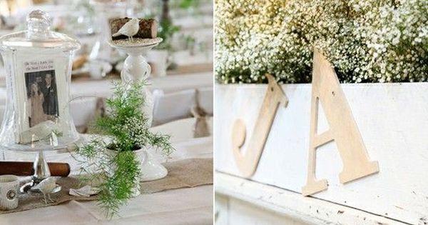 Burlap & lace wedding decoration ideas & inspirations Wedding Inspiration - View