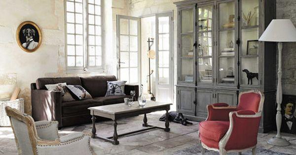 cadre d co chien en bois 53 x 64 cm oscar maisons du monde interior pinterest salons. Black Bedroom Furniture Sets. Home Design Ideas
