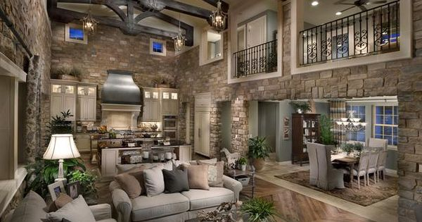 Living Room And Kitchen Home Ideas Pinterest Great Rooms Living