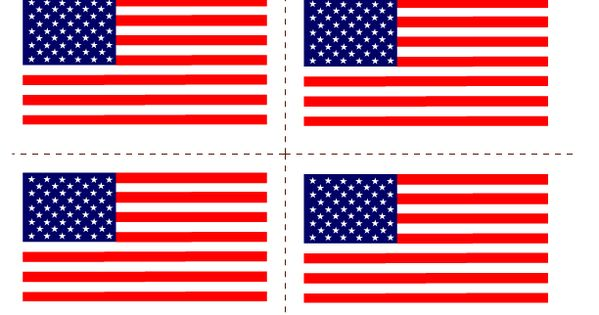 free 4th of july flag clipart