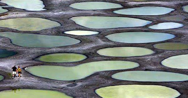 Spotted Lake (Khiluk) British Columbia BritishColumbia travel