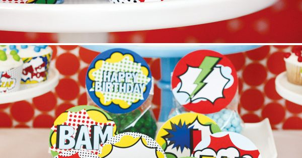 Superhero Birthday Party Ideas | Photo 1 of 42