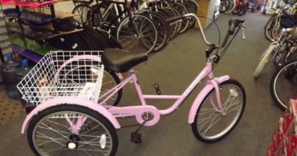 We Have A New Pink 3 Wheel Adult 24 Tricycle 6 Speed Bike Build
