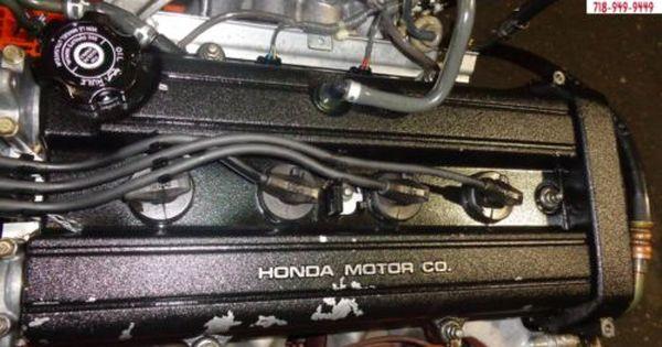 99 00 01 Honda Crv 2 0l Dohc 4 Cylinder Engine Jdm B20b High Compression B20 Ebay Honda Crv Ebay Honda