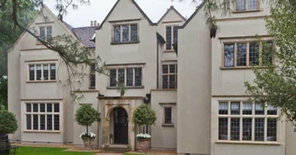 Bronze Casements Replaced Steel Windows On This Substantial Manor