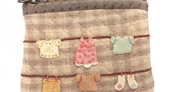 Sac et pochette fil linge reiko kato japos - Reiko kato patchwork ...