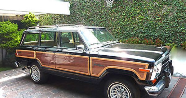 Nice Black 1990 Grand Wagoneer In Houston Tx Buy It Now For 45k