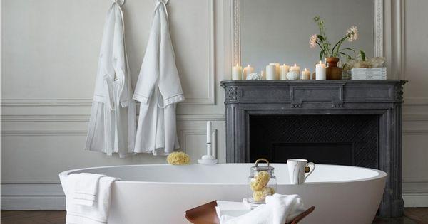 Deco cheminee noire salle de bain bougie zara home le blog d co de mlc salle de bain for Accessoires salle de bain zara home