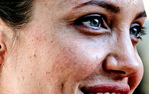 unretouched angelina jolie stars without makeup