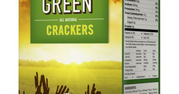 Soylent green collectable crackers food packaging for Soylent europe