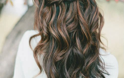 hair style for in wedding wedding hairstyles for hair s waterfall twist 5559