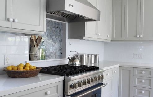 Ben moore brushed aluminum gray cabinet paint light gray for Brushed aluminum kitchen cabinets