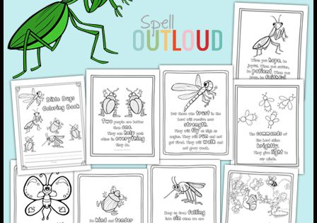 Bible Bugs Scripture Coloring Pages Coloring Fireflies
