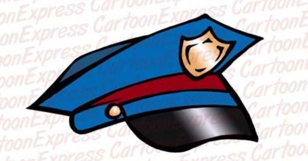 Cartoon Police Hat - Google Search