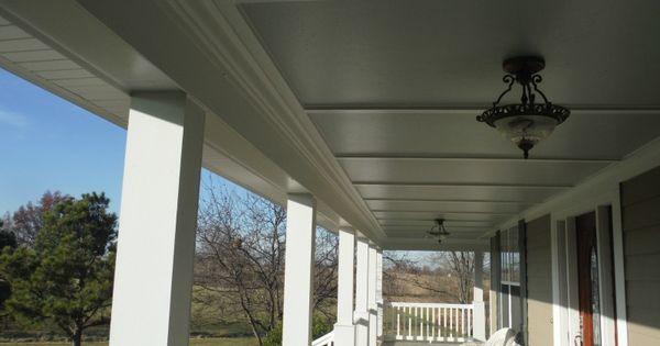 Hardie Smooth Panel W Hardie Crown Porch Ceilings