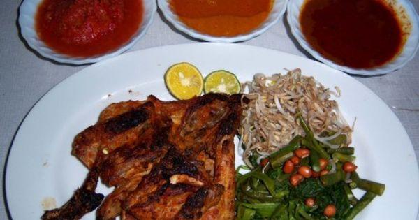 Ayam Taliwang Resep Makanan Asia Resep Masakan Asia Resep Ayam