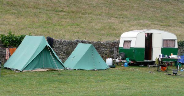 Secret Seven Vintage Caravan And Tents Vintage Campers Trailers Tent Vintage Caravan