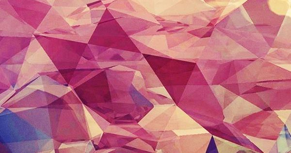 Watercolor Style Geometric Abstract Wallpaper. Tap To See