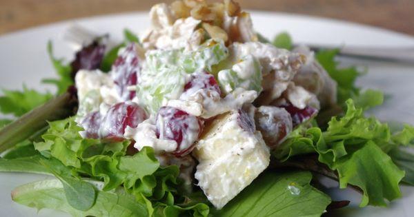 Skinny chicken, Waldorf salad and Skinny on Pinterest