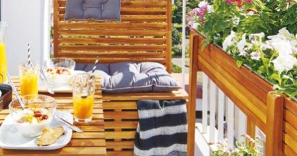 m bel pflanzen und deko alles f r den mini balkon kleine balkone einrichtungsideen und balkon. Black Bedroom Furniture Sets. Home Design Ideas