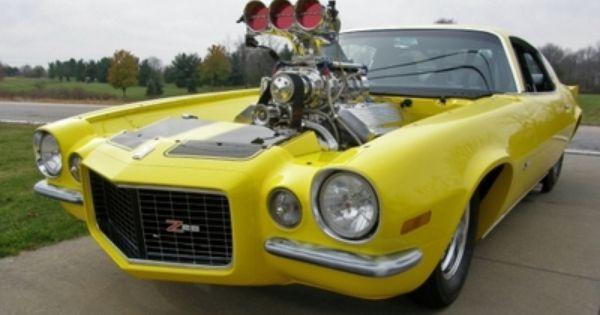 Full Blown Camaros 1971 Camaro Blown Efi 572 Pro Street For Sale Muscle Car S Pinterest