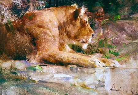 Richard Schmid Watercolors Google Search Art Animal Paintings