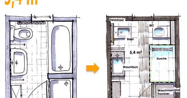 badplanung beispiel 5 4 qm neue w nsche f r das neue bad ideen pinterest neues bad. Black Bedroom Furniture Sets. Home Design Ideas