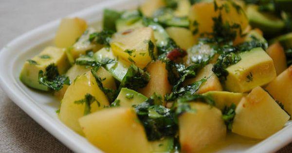 Plum Avocado Summer Salad | Recipe | Summer Salads, Avocado and Salad