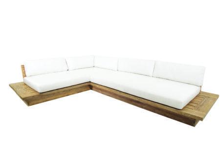 Bali L Shape Teak Sofa Malibu Market Design Teak Sofa L Shaped Sofa Sofa